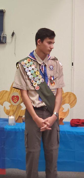 Congratulations Danny Burke,  Troop 164 Eagle scout.